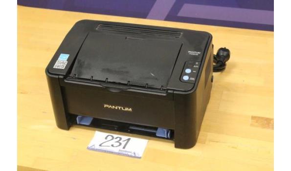 printer PANTUM P2506, met kabel, werking niet gekend