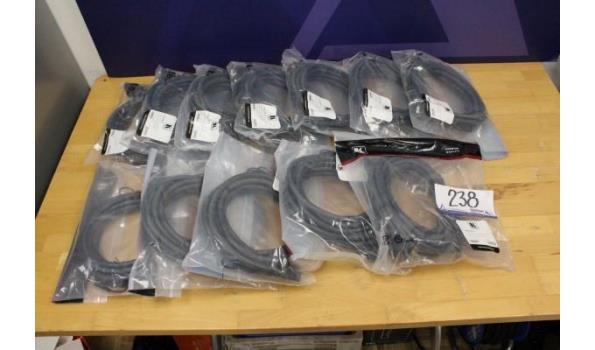 12 stereo audio kabels KRAMER