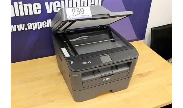 wireless printer BROTHER MFC-L2740DW, zonder kabels, werking niet gekend