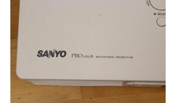 beamer SANYO ProExtraX, zonder kabels, werking niet gekend, met opbergtas