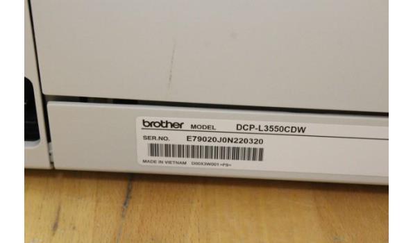 kleurenprinter BROTHER DCP-L3550CDW, werking niet gekend