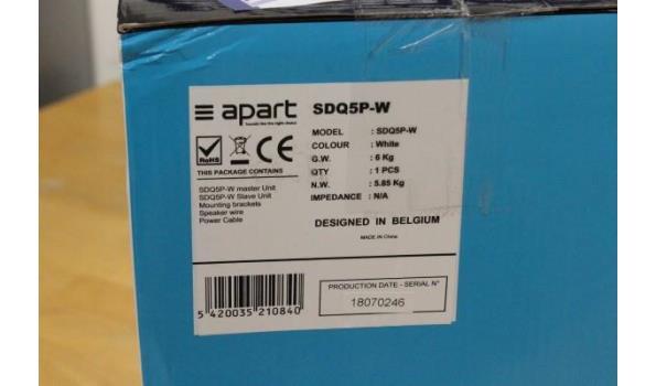 geluidsbox APART SDQ5P-W