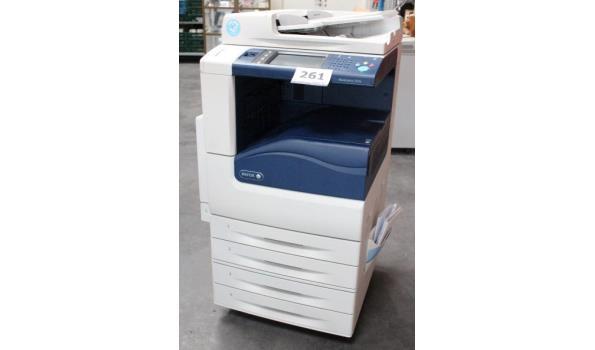 fotokopieerapparaat XEROX WorkCentre 7225i, werking niet gekend