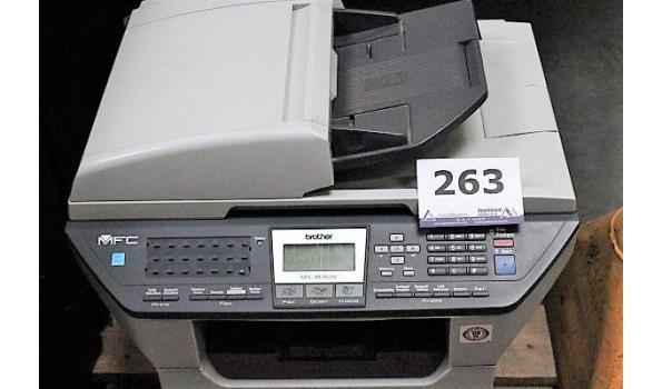 all-in-one printer BROTHER MFC -8870DW, werking niet gekend