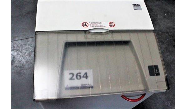 verr papierversnipperaar IDEAL 2502, werking niet gekend