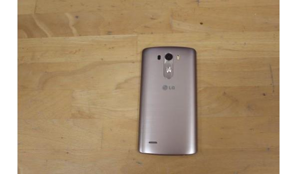 smartphone  LG G3, zonder kabels, werking niet gekend