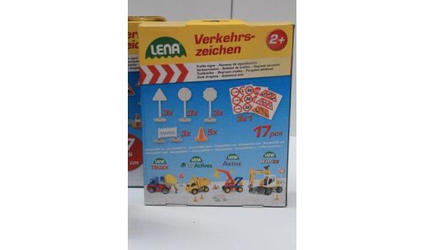 10 dozen inh speelgoedverkeersborden