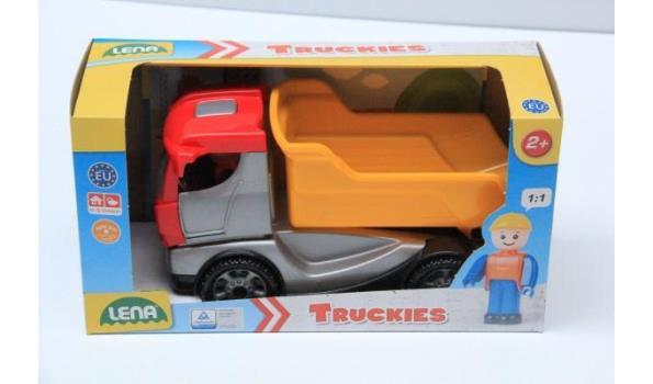 3 div speelgoed wagens, wo vrachtwagen