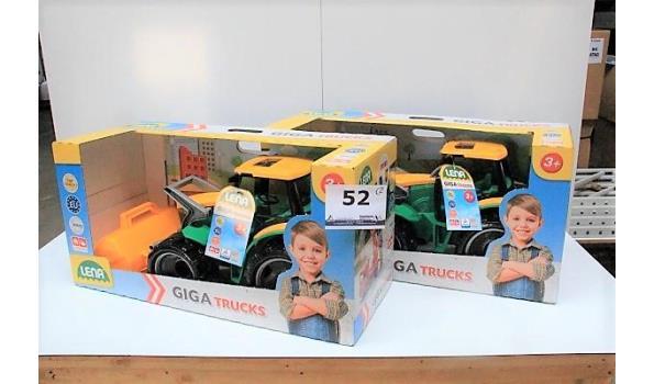 2 speelgoed tractors