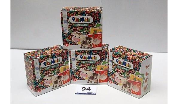 4 dozen à 2300st Playmais Mosaic