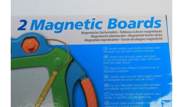 6 magnetische tekenborden