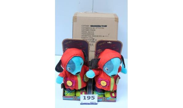 2 speelgoedknuffels