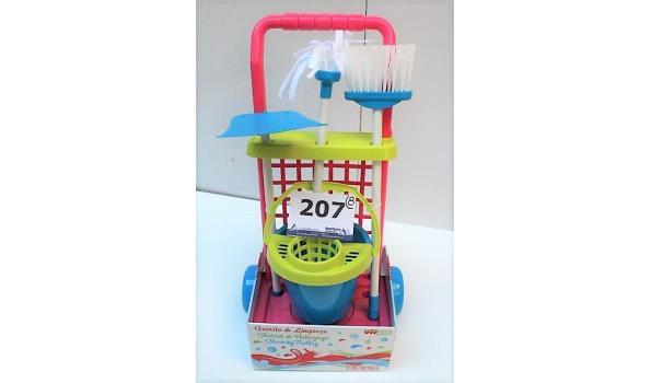 8 speelgoedschoonmaaksets