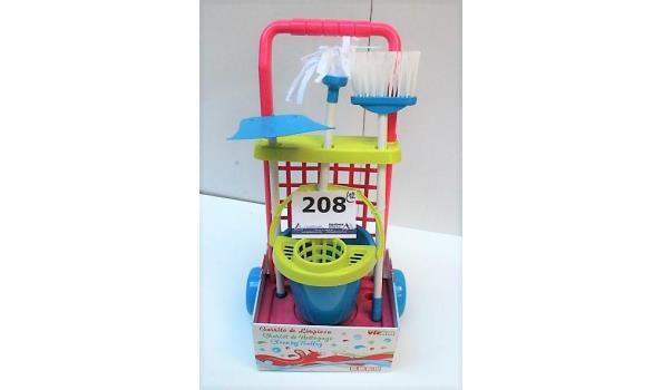 12 speelgoedschoonmaaksets