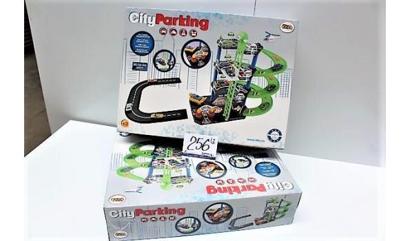 2 speelgoed city parking