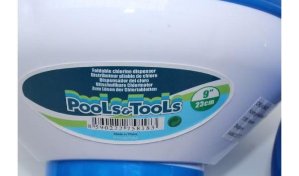 6 uitschuifbare chlorinators voor zwembad