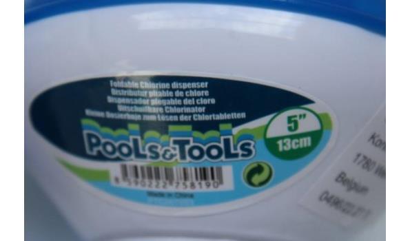 12 uitschuifbare chlorinators voor zwembad