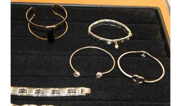 10 diverse armbanden