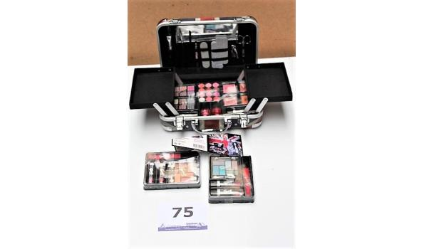 koffertje inhoudende make-up