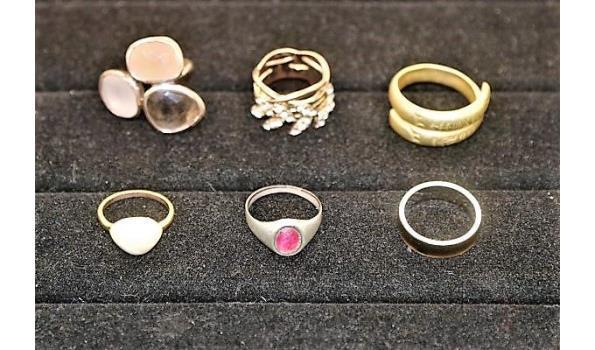 10 diverse ringen