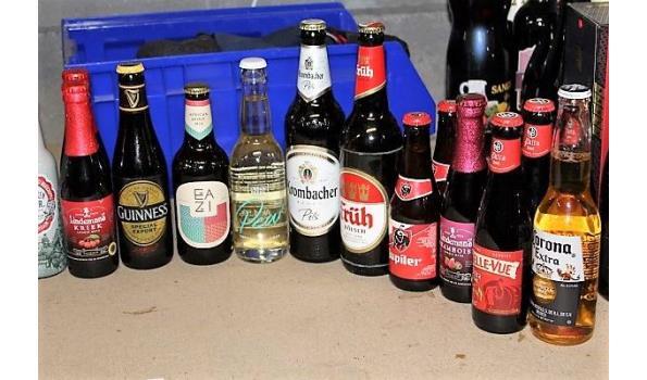 plm 30 flesjes diverse bieren