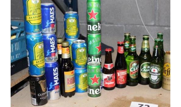 lot diverse bieren