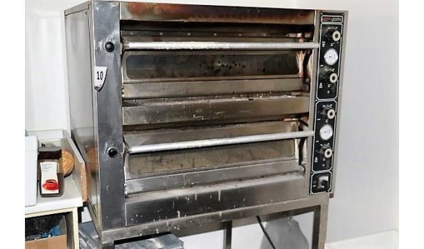 pizzaoven GGM GASTRPO, op onderstel afm plm 95x83cm