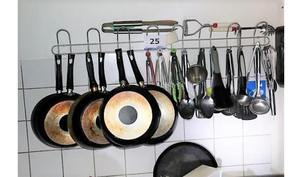 st hangrek inh div pannen en div keukenbenodigdheden