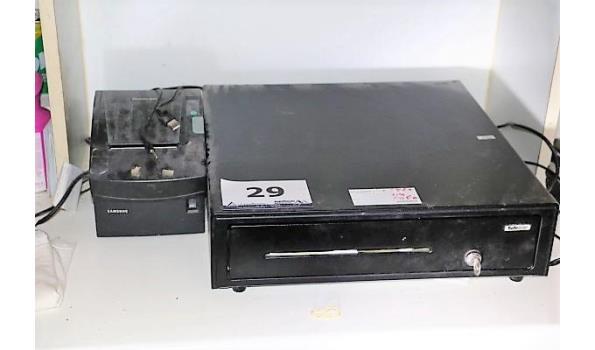 elektr kassalade plus ticketprinter SAMSUNG