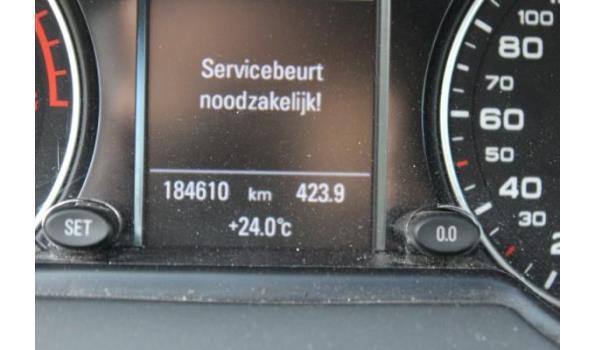 stationwagen AUDI Q5 Quattro, diesel, 1968cm³,100kW,1e inschr 11/5/12, WAUZZZ8R3CAA108435, 184610km,162g/km, Euro5, met kenteken DEEL I(DEEL II n.a.), gelijkvormigheidsattest, keuring tot 31/10/21, 2sleutels
