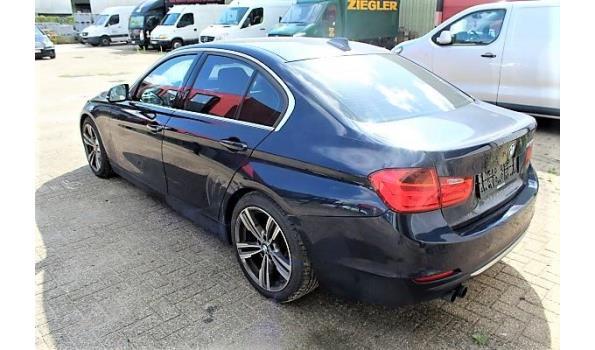personenwagen BMW 328i, benzine,1997cm³, 180kW, 1e inschr 10/04/12, WBA3A51060F231162, 152489km, 147 g/km, EURO5, met kenteken DEEL I(DEEL II n.a.), gelijkvormigheidsattest, keuring tot 06/09/20, 2sleutels