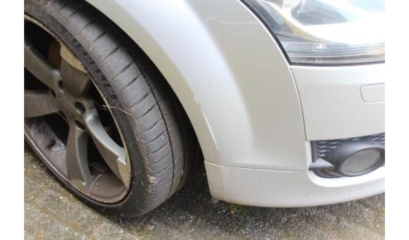 coupe AUDI TT 2.0FSI, benzine,1984cm³, 147kW, 1e inschr 08/12/06, TRUZZZ8J771014261, 138360km, 183 g/km, EURO4, met kenteken DEEL I(DEEL II n.a.), gelijkvormigheidsattest, keuring tot 14/4/20, 1sleutel