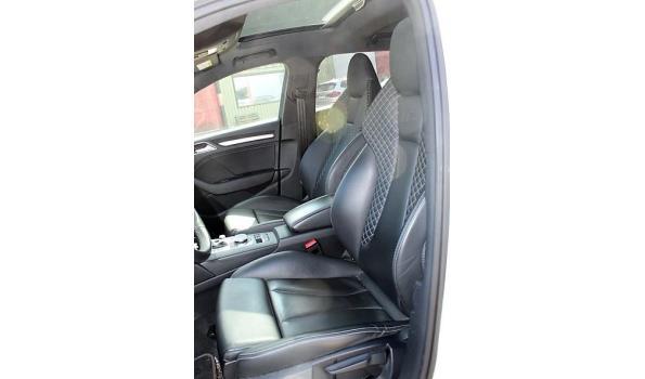 hatchback AUDI S3, benzine,1984cm³,228kW, 1e inschr 16/5/18, WAUZZZ8V9JA121264, 33578km, 150g/km, EURO6b, met kenteken DEEL I(DEEL II n.a.), gelijkvormigheidsattest, 2sleutels