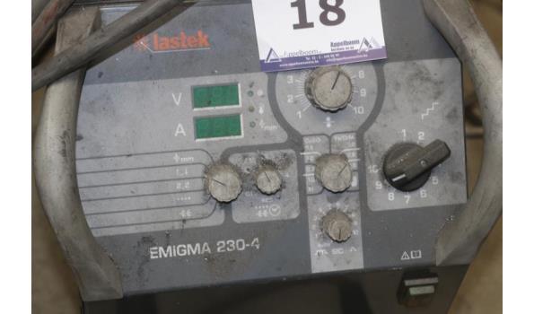 lasapparaat LASTEK Emigma 230, met toebehoren