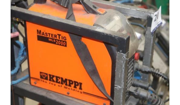 lasapparaat KEMPPI Mastertig mls2000 mtl