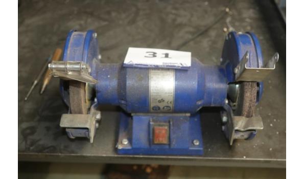 2-steens gereedschapslijpmachine ELEKTRA BECKUM DS 150w