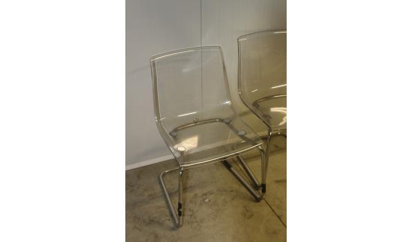 6 design stoelen