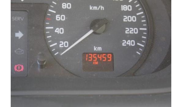 auto dubbel gebruik RENAULT MEGANE, benzine, 1598cm³,79kW,1e inschr 02/03/01, VF1JA04B523733059, 135459km,CO²-uitstoot ng, milieuklasse ng, met kentekenbewijs, gelijkvormigheidsattest, keuring tot 24/1/22, 2sleutels