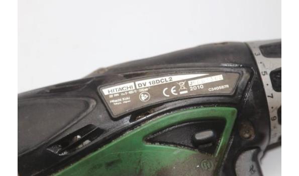 accu boormachine HITACHI DV 18DCL2