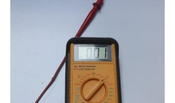 multimeter SURVIVOR 2860A