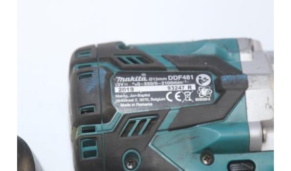 accu boormachine MAKITA DDF481