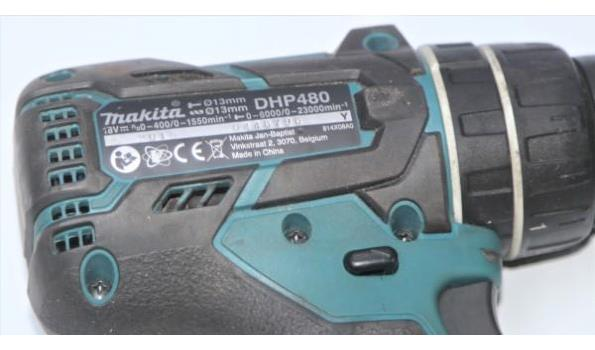 accu booramachine MAKITA DHP480