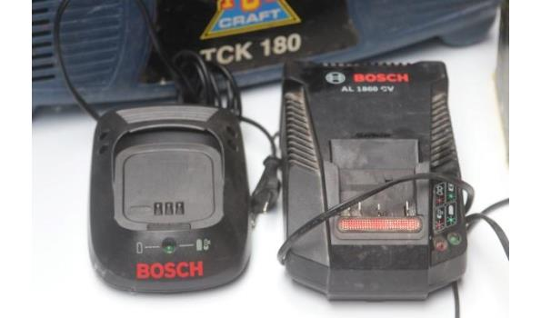 compressor TOPCRAFT, batterijladers