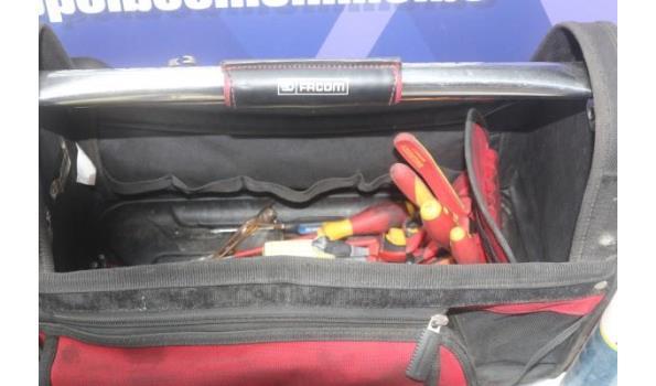 gereedschapskoffer FACOM met inhoud