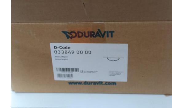 inbouw wastafel DURAVIT D-Code