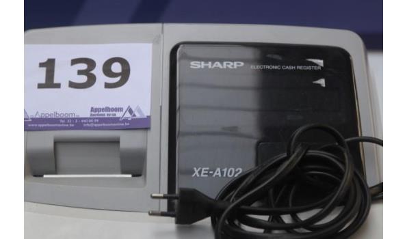 elektron kassa SHARP XE-A102