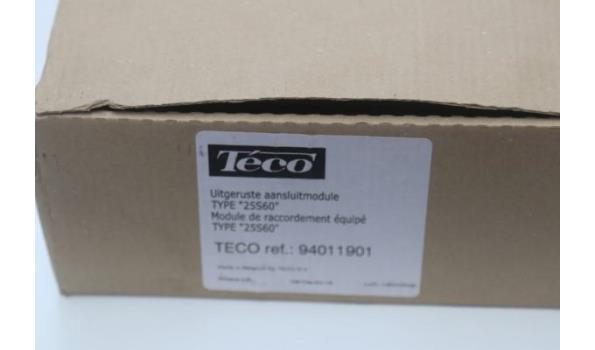 uitgeruste aansluitmodule TECO 25560