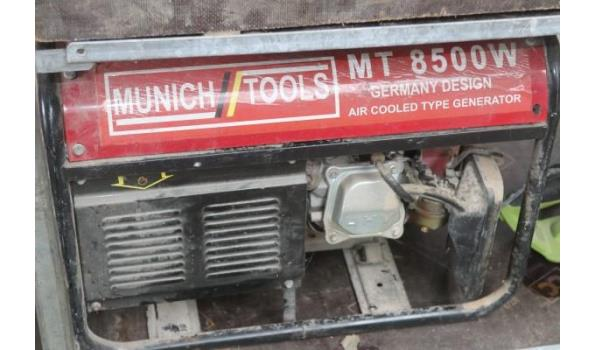 stroomgenerator MUNICH TOOLS 8500w