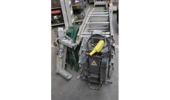 materiaallift HAEMMERLIN Maxial MA415, serienummer 1352076, bj 2016