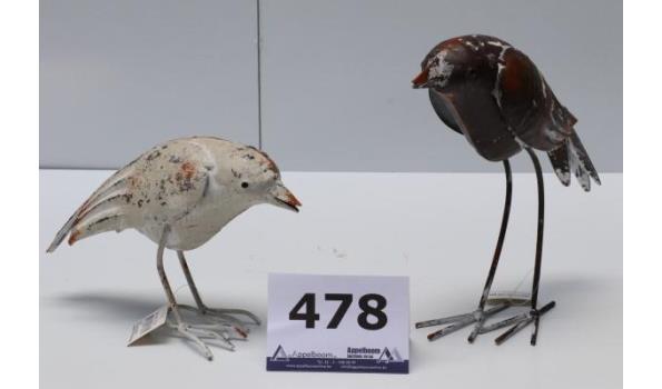 3 dozen inh plm 72 div decoratieve vogels